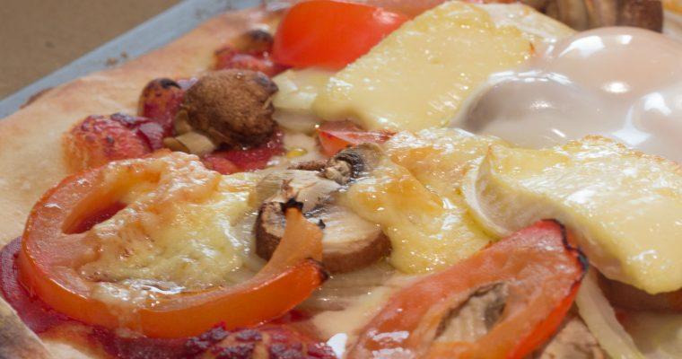 Lazy Saturday Pizza