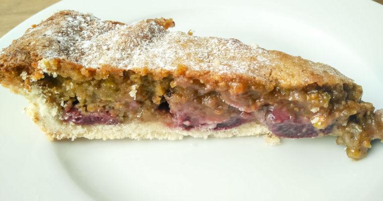 Cherry Pistachio Tart