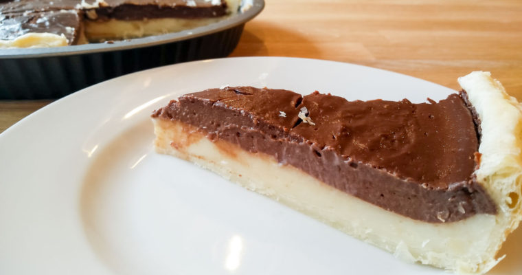 Vanilla Chocolate Flan Patissier