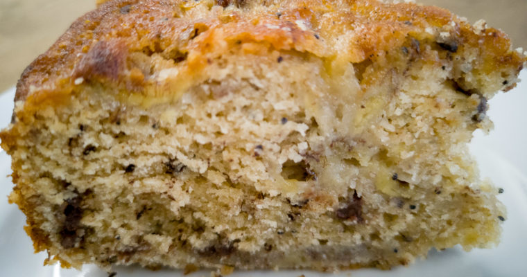 Banana Punch Cake